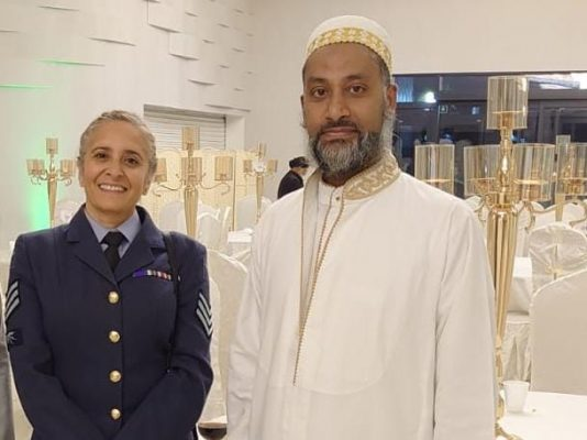 RAF Sgt. Wazeeha Laher
